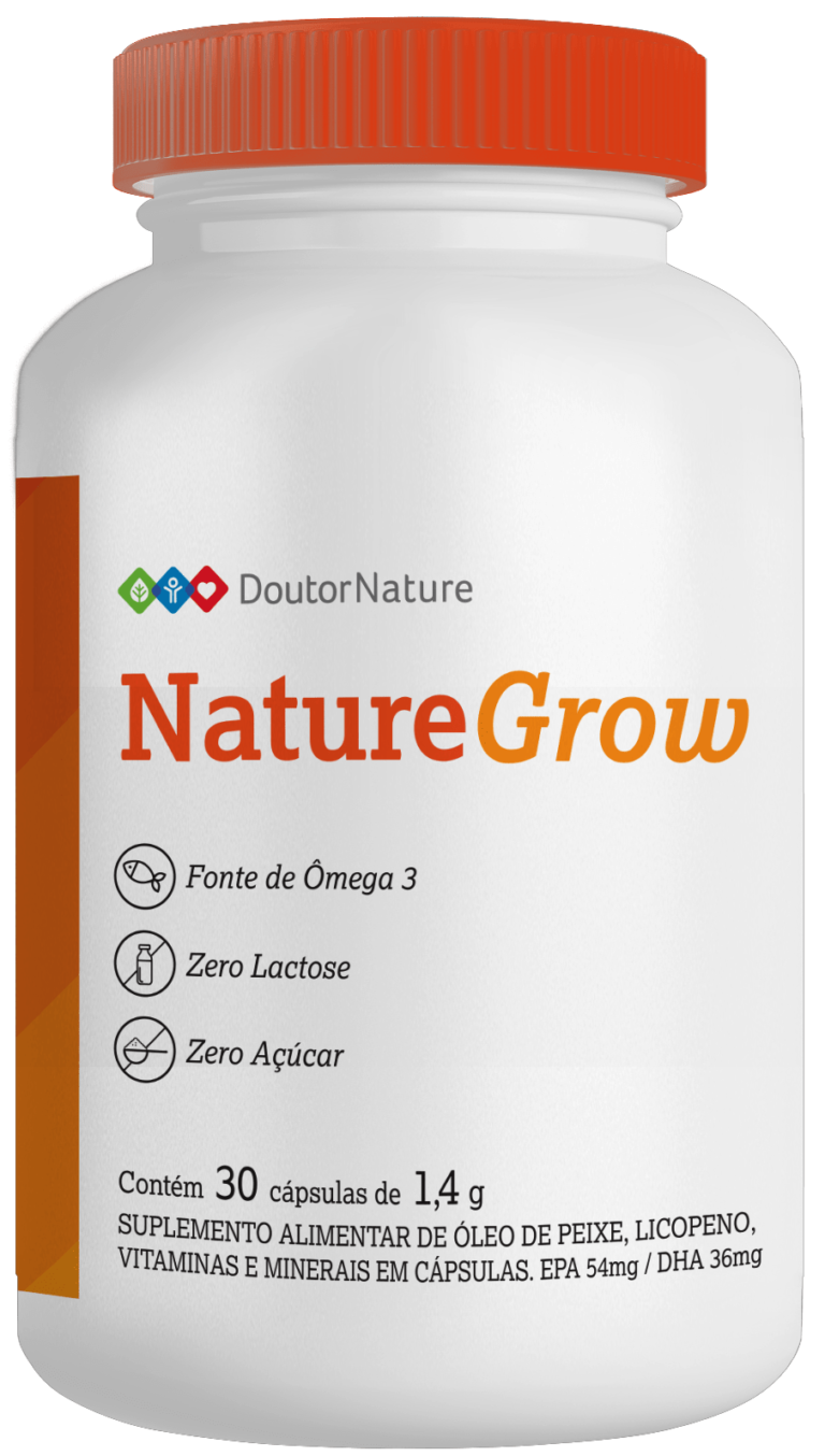 Nature Grow Suplemento Natural